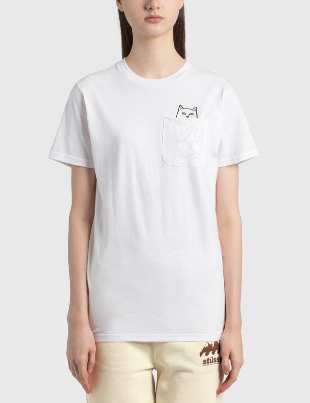 RIPNDIP Lord Nermal Pocket T-Shirt White Women