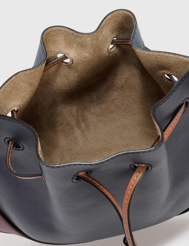 Loewe Small Horseshoe Bag Midnight Blue/wine Women