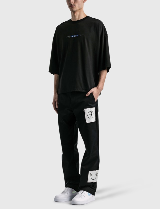Ader Error Scratch Logo T-shirt