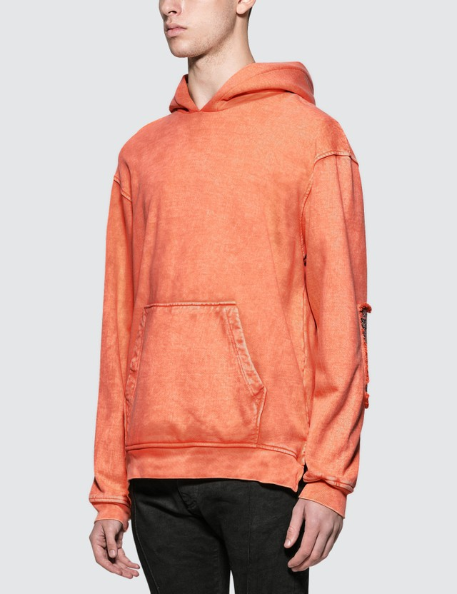 Alchemist CoCo Hoodie with Chanel Tweed Blooming Dahlia Men