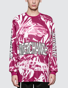 CALVIN KLEIN JEANS EST.1978 Interchange Print L/S T-Shirt