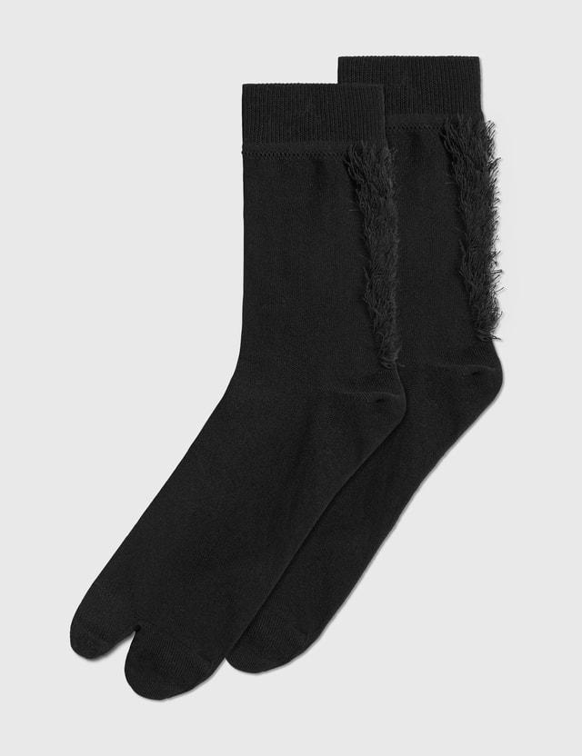 Decka Socks Mohican Socks Black Men