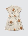 Mini Rodini Cat Advice S/S Dress Picture