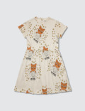Mini Rodini Cat Advice S/S Dress Picture