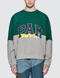 Perks and Mini Ppaamm Half Way Crew Neck Sweatshirt Picutre