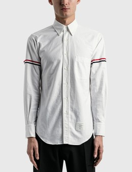 Thom Browne RWB Stripe Oxford Shirt
