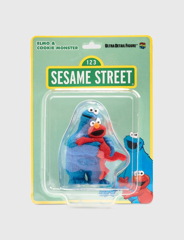 Medicom Toy UDF Sesame Street Series 2: Elmo & Cookie Monster