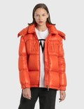 Moncler Embossed Logo Down Jacket 사진