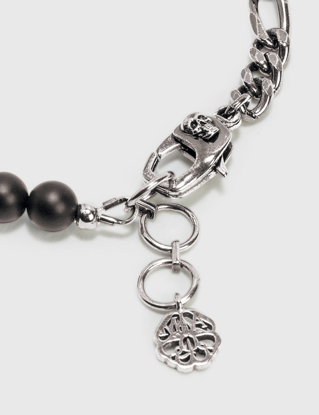 Alexander McQueen Beads And Skull Bracelet