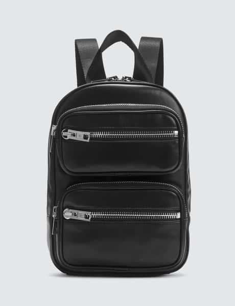 알렉산더 왕 아티카 소프트 백팩 미디움 - 블랙 Alexander Wang Attica Soft Medium Backpack