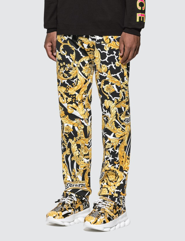Versace Classic Baroque Stretch Jeans