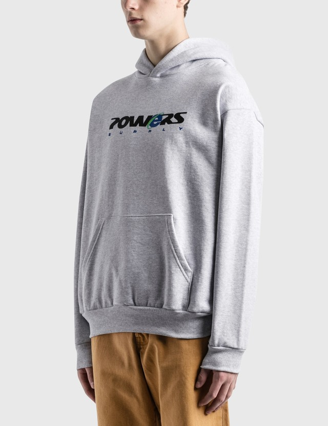 Powers Explorer Hoodie Light Heather Grey Men