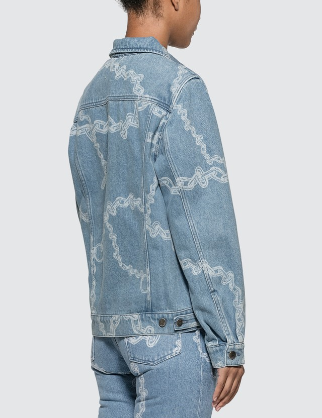 Aries Denim Chains Harrington Jacket