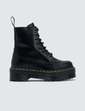 Dr. Martens Jadon Black Polished Smooth Picutre