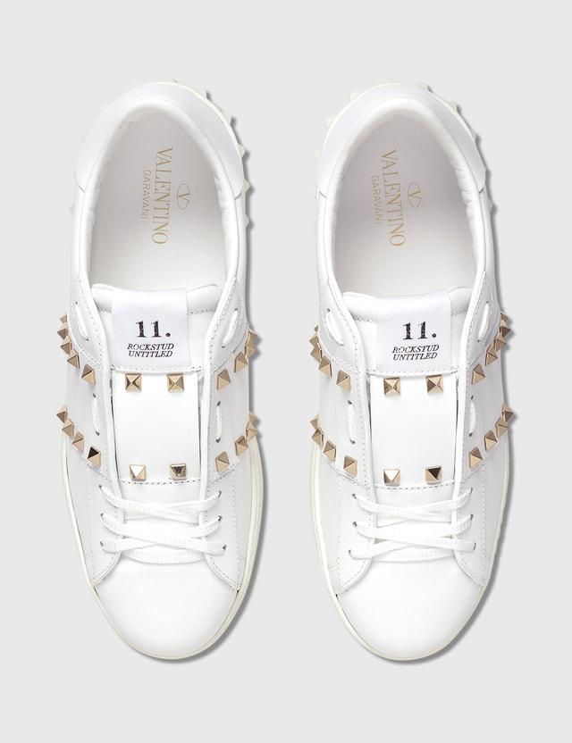 Valentino Valentino Garavani Rockstud Untitled Sneaker Bianco/bianco Men