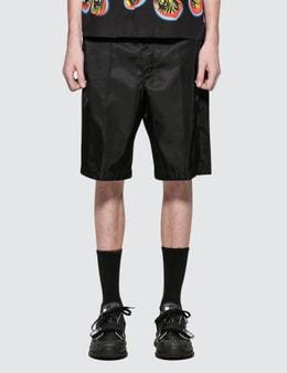 Prada Nylon Bermuda Unpadded Shorts
