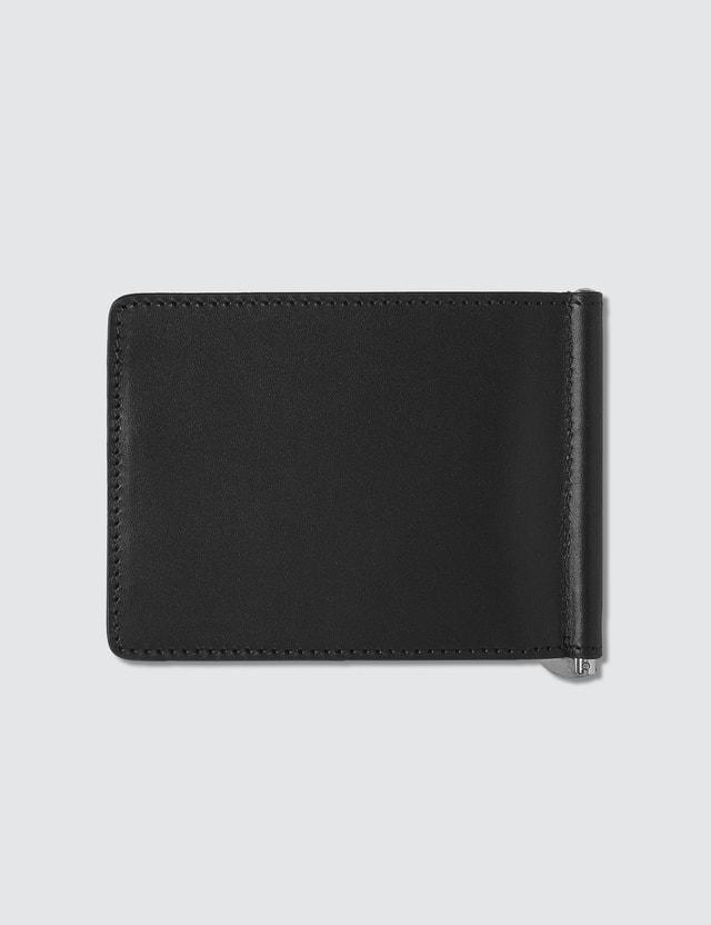 A.P.C. Leather Money Clip Wallet