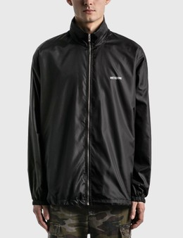 We11done Polyester Black Windbreaker Jacket