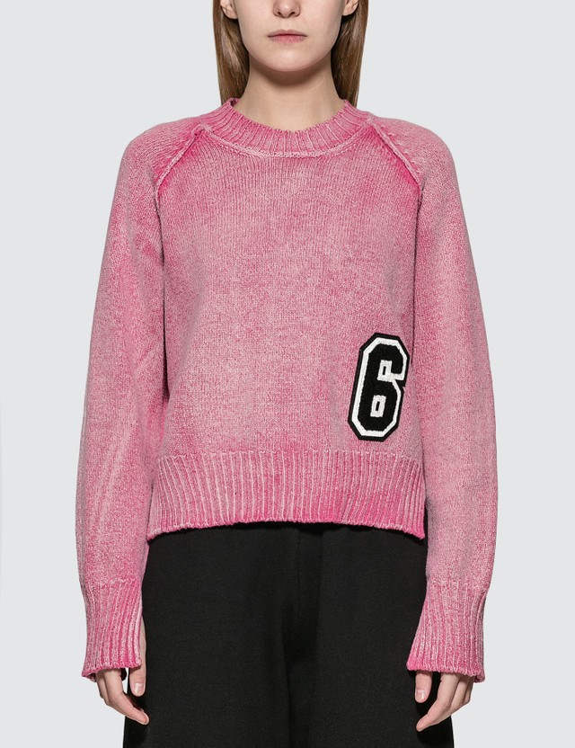 MM6 Maison Margiela Logo Sweater