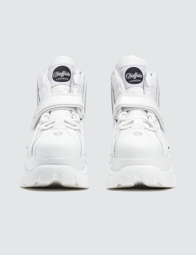 Buffalo London Buffalo Classic White High-top Platform Sneakers