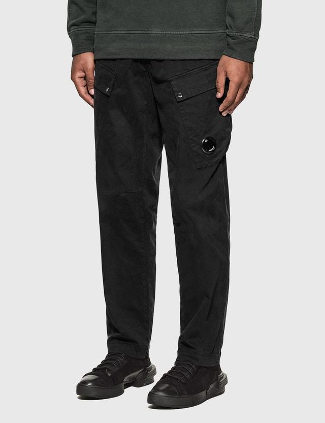 CP Company Cargo Pants Black Men