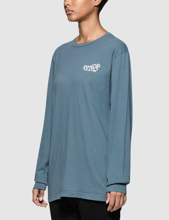 RIPNDIP Great Wave Long Sleeve T-shirt