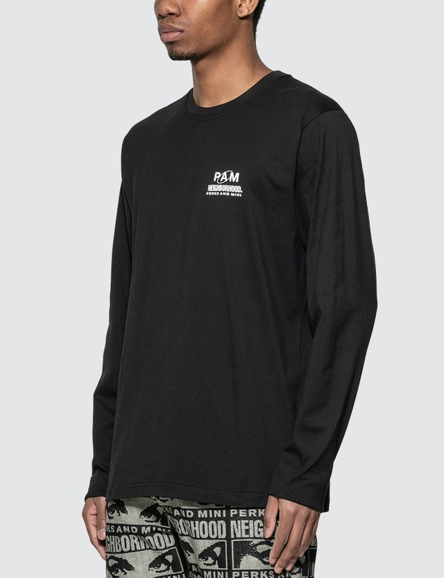 Perks and Mini P.A.M. x Neighborhood Print Long Sleeve T-shirt
