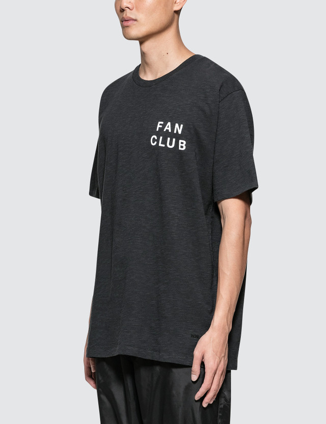 Wood Wood Perry S/S T-Shirt Faded Black Men