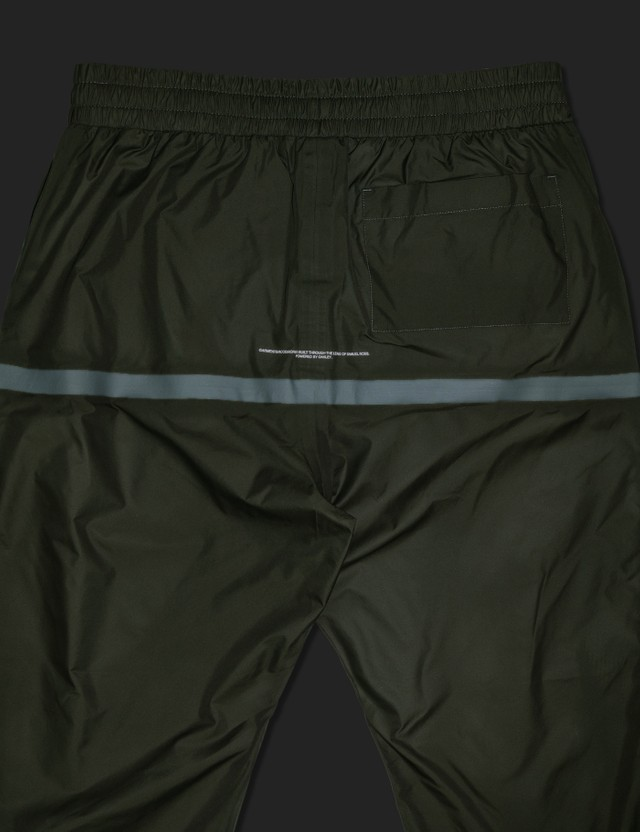 Oakley by Samuel Ross Taped Track Pants Dark Green Men