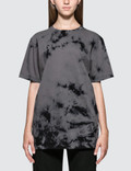 Helmut Lang Tiedye Logo Short Sleeve T-shirt Picture