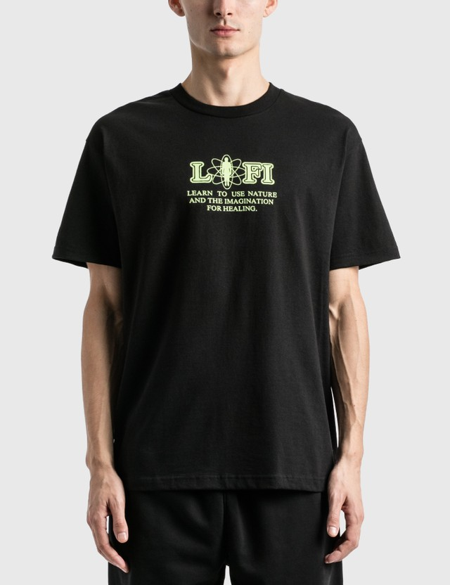 Lo-Fi Under Pressure T-Shirt Black Men