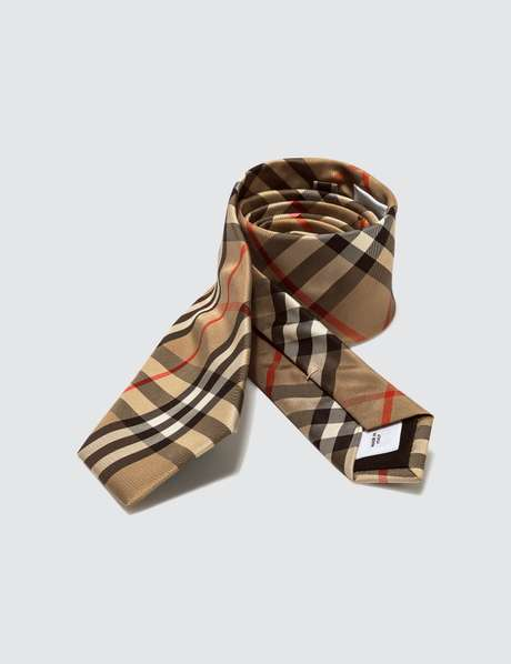 버버리 빈티지 체크 넥타이 (남성 선물 추천) Burberry Modern Cut Vintage Check Silk Tie
