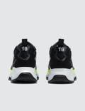 MSGM Chunky Sneakers Black + Neon Yellow Men