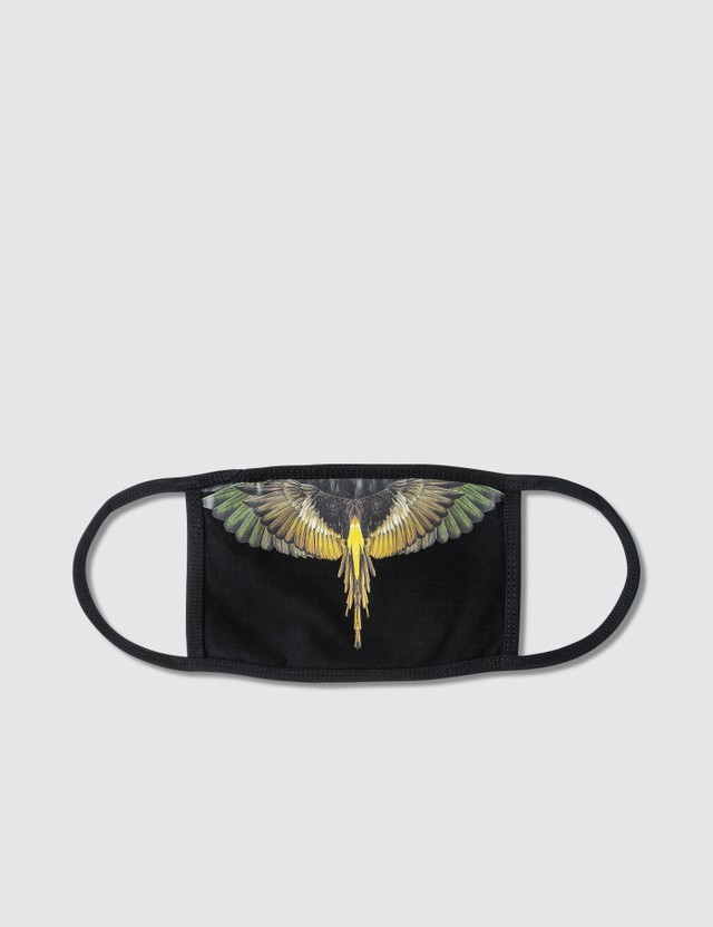 Marcelo Burlon Yellow Wings Mask