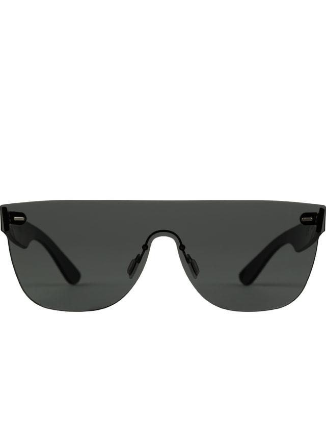 16ea39a6ff Super By Retrosuperfuture - Tuttolente Flat Top Black Sunglasses (L ...