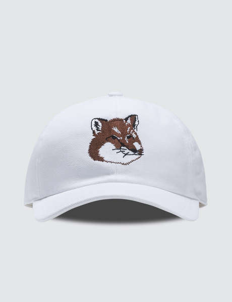 메종 키츠네 여우 자수 볼캡 Maison Kitsune 6P Large Fox Head Embroidery Cap