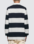 Champion Reverse Weave Stripes Polo Shirt