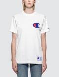 Champion Japan Big Logo Short Sleeve T-Shirt Picture