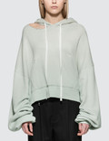 Unravel Project Terry Hoodie Cut Chopped Hoodie Picutre