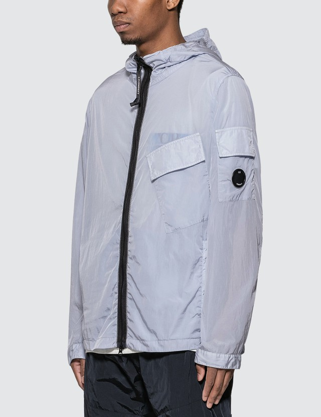 CP Company Chrome Hooded Lens Overshirt