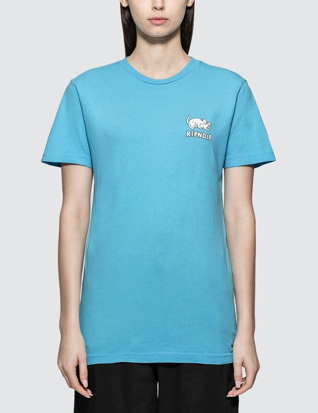 RIPNDIP Two Nermals T-shirt Light Blue Women