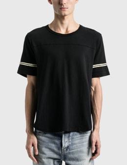 Saint Laurent Saint Laurent 50's Signature Destroyed T-Shirt