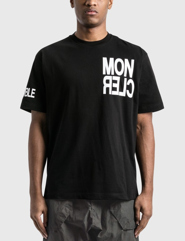 Moncler Grenoble T-Shirt Black Men