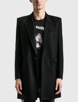 Saint Laurent Manteau Double Face Coat