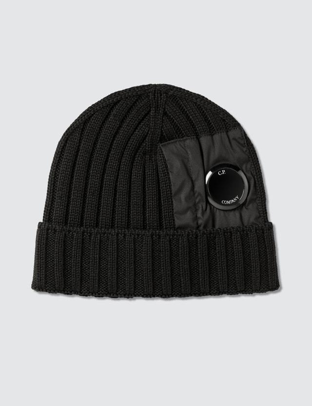 CP Company Lens Merino Wool Beanie