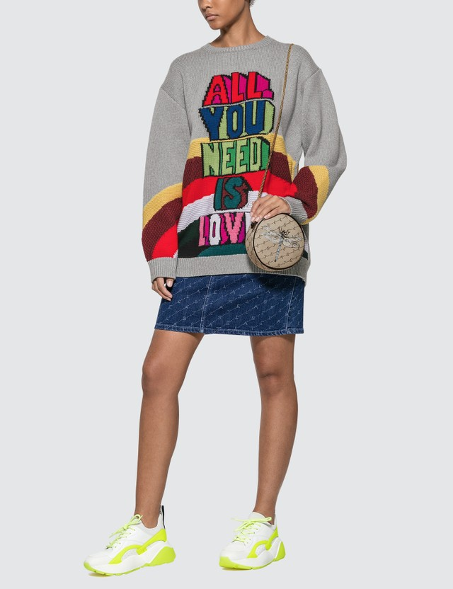 Stella McCartney All You Need Is Love Knitted Sweater
