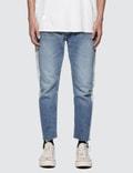 Magic Stick Cut Off Fade Jeans Picture