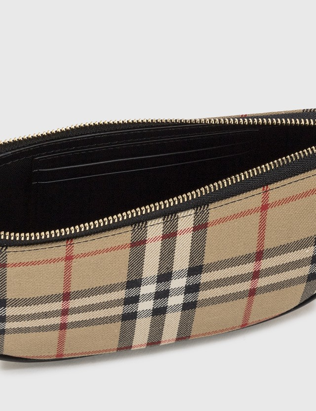 Burberry Vintage Check Cotton Olympia Pouch
