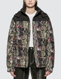 RIPNDIP Nerm & Jerm Tree Camo Puffer Jacket Multi Women