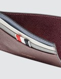 Thom Browne Funmix Pebble Grain Double Sided Card Holder